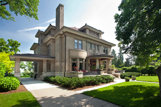 Historic donaldson mansion on lowry hill is for sale for Minnesota mansions for sale