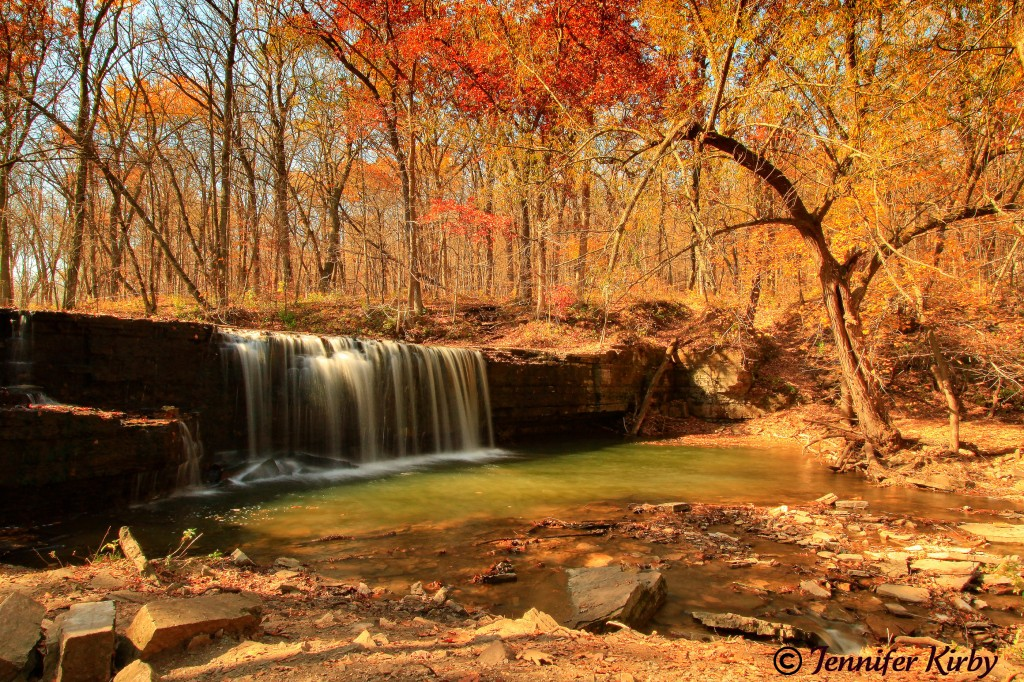 Fall at Hidden Fall in Nerstrand State Park