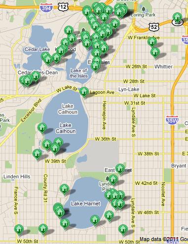 Minneapolis Chain of Lakes Luxury Real Estate Listings